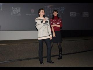 Сергей Безруков и Анна Матисон представляют в Санкт-Петербурге свой новый фильм «Млечный путь»
