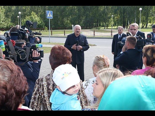 Александр Лукашенко в Малорите: «Цены не должны расти сейчас, мы с вами уже определились»