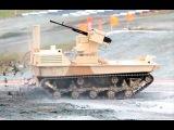 Новые виды вооружения современной российской армии.Боевые наземные роботы МРК ВН