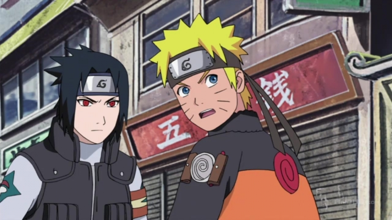 Naruto Shippuuden / Наруто Ураганные хроники - 443 HD [Озвучка: Ancord]