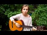 милая девушка красиво поет, круто спела, шикарный голос