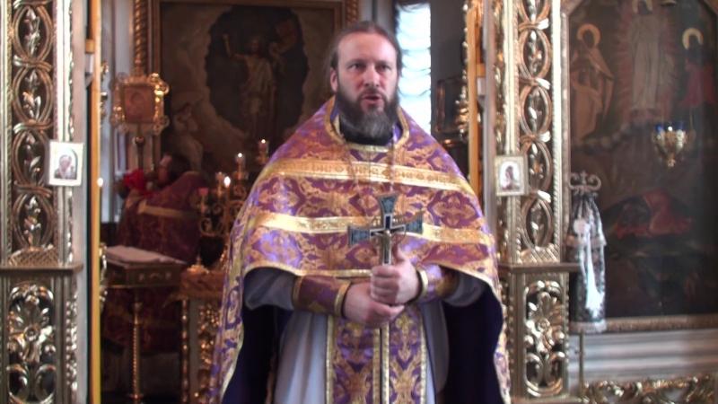 Проповедь первого проректора КазПДС игумена Евфимия ( Моисеева) в третью неделю Великого поста.