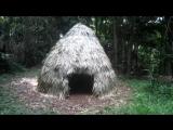 Хижина в лесу своими руками без верёвки и топора