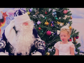 Новогодний утренник в детском саду г. Орехово-Зуево, клип.