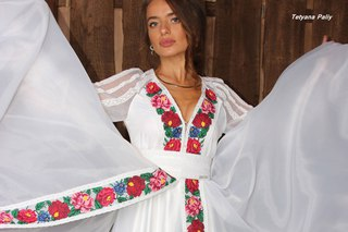 Вишиті весільні сукні f194e5be4e5da