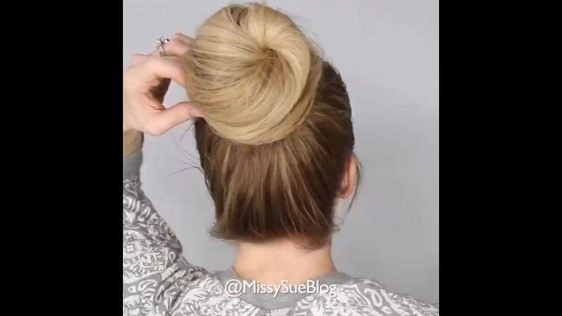 Прически что бы не мешались волосы