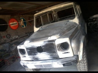Mercedes Gelandewagen своими руками New life car
