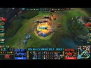 Huni and Pobelter 2vs4 TiP - W1D2 NA LCS Spring 2016 - League of Legends