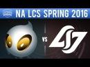DIG vs CLG - NA LCS 2016 Spring W1D2 - Dignitas vs Counter Logic Gaming