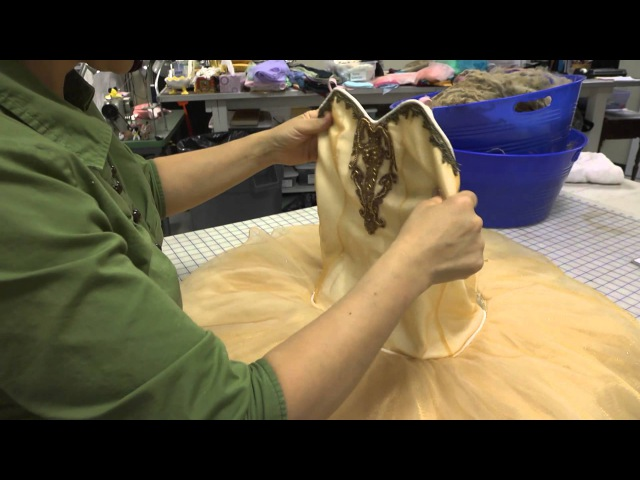 Constructing a Classical Ballet Tutu (Part 7 Finishing Final Fitting) - University of Akron