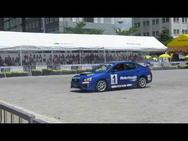 Subaru WRX STI 2015 Drift in Sai Gon Autotech 2014