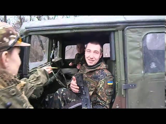 2Likiy (Двуликий)- Пенопластовый Хаммер,Ато,Украина,Донбасс,