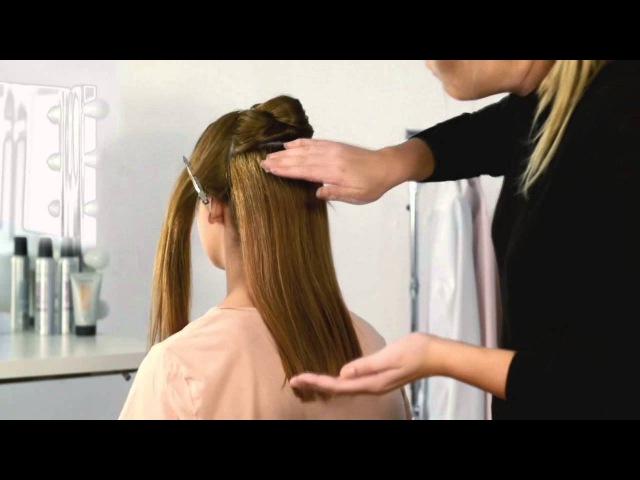 Видеоурок: прическа хвост-спираль