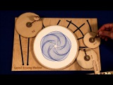 Joe Freedman's Amazing Cycloid Drawing Machine