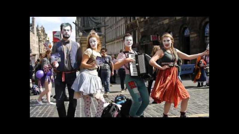The Best of The Edinburgh Festival Fringe Street Theatre, 2015