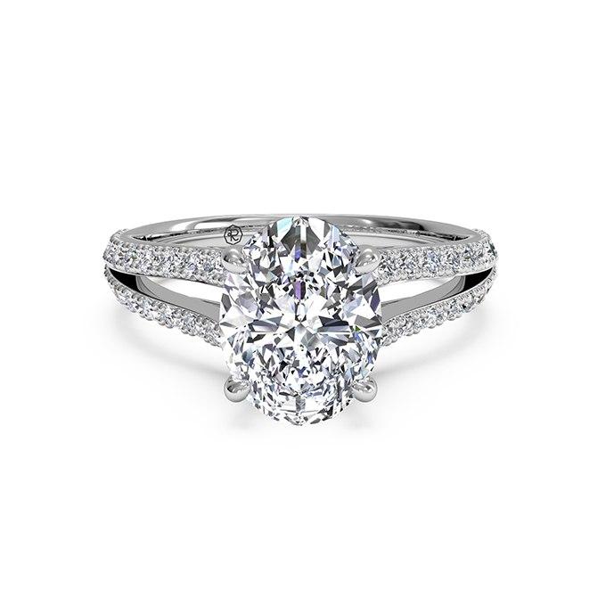 CQlDKgIS7f4 - Королевские овальные обручальные кольца (30 фото)