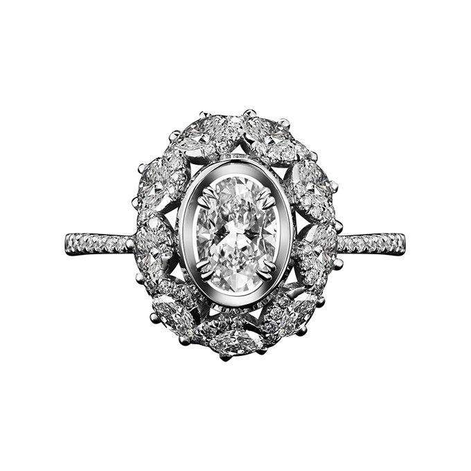 COnvUAnAKRY - Королевские овальные обручальные кольца (30 фото)