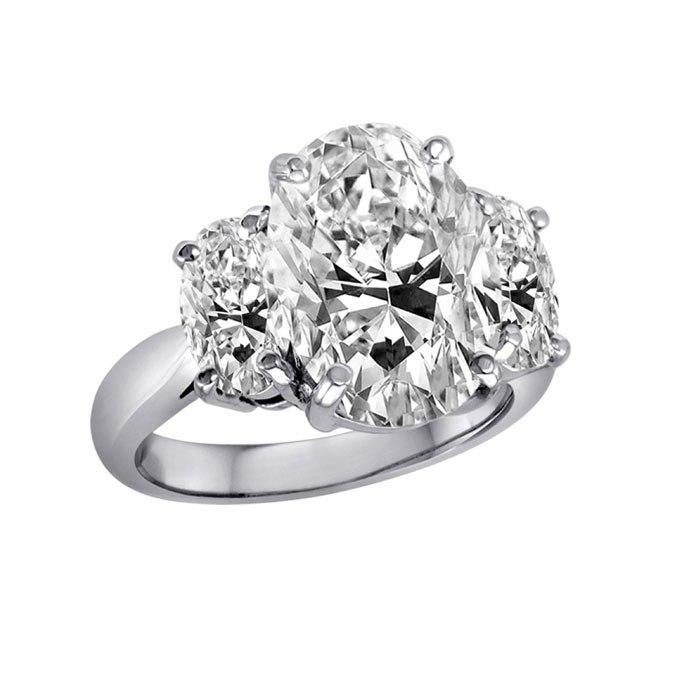 Mpcpe0U7VB4 - Королевские овальные обручальные кольца (30 фото)