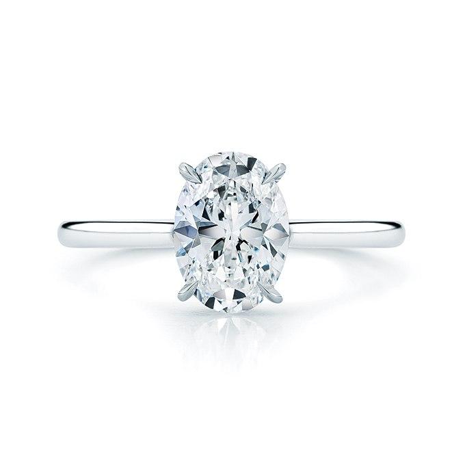 HflQxXz0YR0 - Королевские овальные обручальные кольца (30 фото)