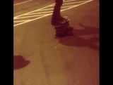 Lol @asliger riding three skateboards at once while @josemostajo continuously says
