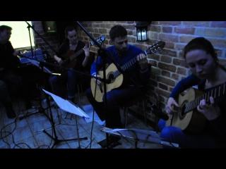 Эннио Морриконе - Le vent, le cri - концерт в кафе Темно-лиловое 19.03.2016