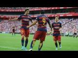 Малага - Барселона 1:2 ~ обзор Чемпионат Испании, 21-й тур ~ 23.01.2016