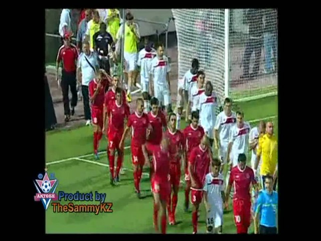 FC Aktobe-Hapoel T.A. Champions League 2010. All Goals [HD]