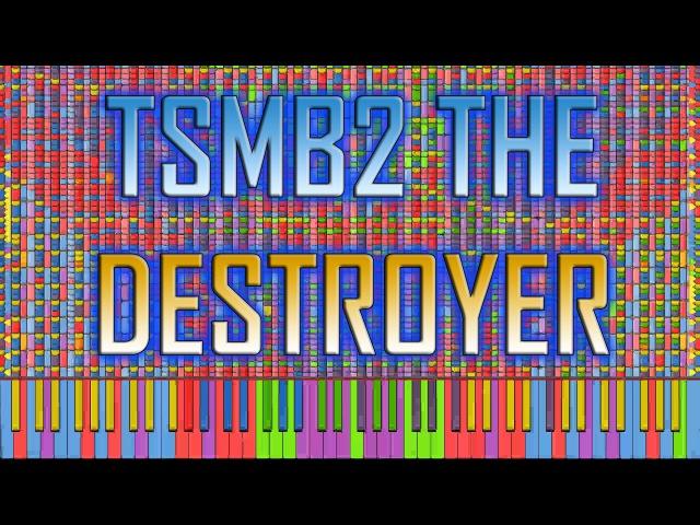 [Black MIDI] Synthesia – TSMB2, the Destroyer Final Update | 6.26 million ~ TheSuperMarioBros2