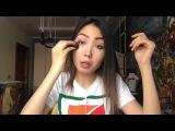 Мой повседневный макияж | Азиатский макияж (косметика + приемчики)