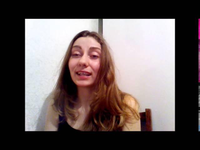 поетичнавалентинка.Анастасія Іваненко-Коленда читає вірш Надії Ковалюк