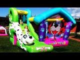 ✿ Тайная Жизнь Домашних Животных БАТУТ The Secret Life of Pets Playhouse Игры Для Детей Trampoline