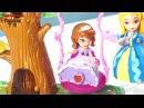 Куклы Принцессы София Прекрасная и Эмбер Новая история: качеля - мультик игра для детей 2016
