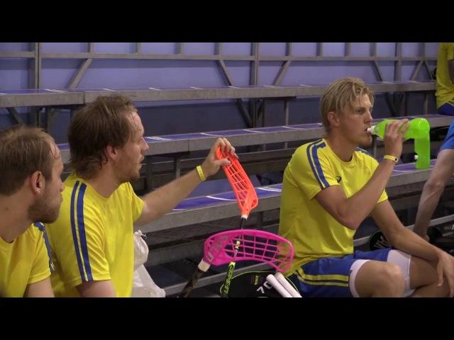 Inside Sweden - VM-lägrets första träning