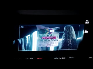 Exclusive: Behind the Scenes on the Set of The Neon Demon