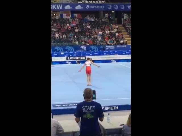 2016 European Gymnastics Championsips - Sergei Naidin (RUS) FX AA Jr Final