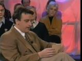 Ведущий Эрик Хартман (Erik Hartman) угарает в прямом эфире ток - шоу Бумеранг