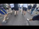 Euro 2016 english hooligans vs russian hooligans GoPro Footage.