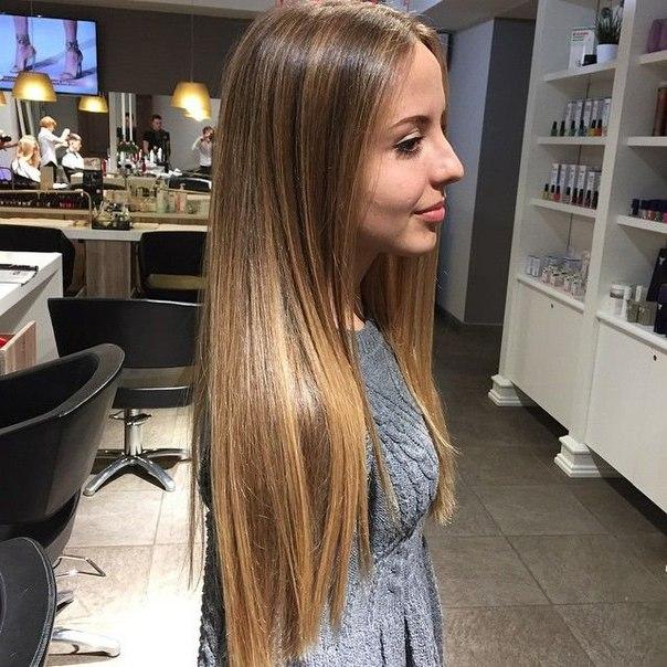 Эффект выгоревших волос окрашивание фото