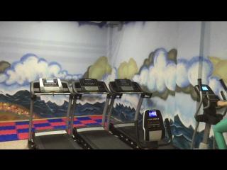Мега позитивная кардио зона в фитнес клубе FOXY FIT