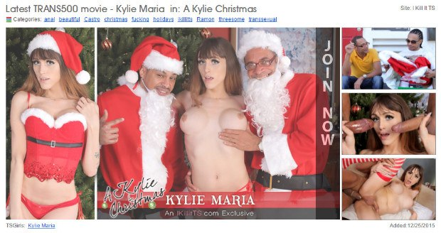WGPORNO Транссексуалы / Transsexual - A Kylie Christmas