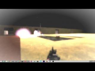 Концепт светошумовой гранаты на UE4