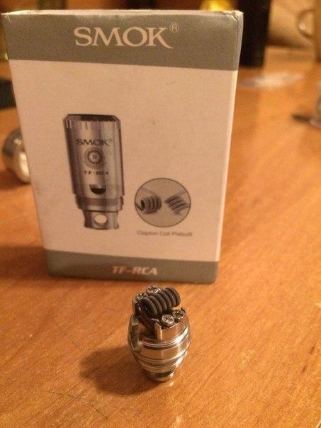 SMOK TFV4 Full Kit + TF-RCA + TF-R2 206
