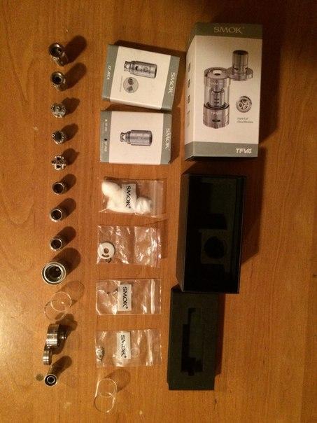SMOK TFV4 Full Kit + TF-RCA + TF-R2 848