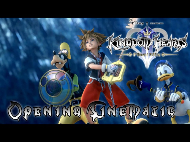 Kingdom Hearts HD 2.5 ReMIX - Final Mix Opening Cinematic @ 1080p HD ✔