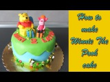 ВинниПух и Пятачок How to make a cake with Winnie the Pooh and Piglet Jak zrobi