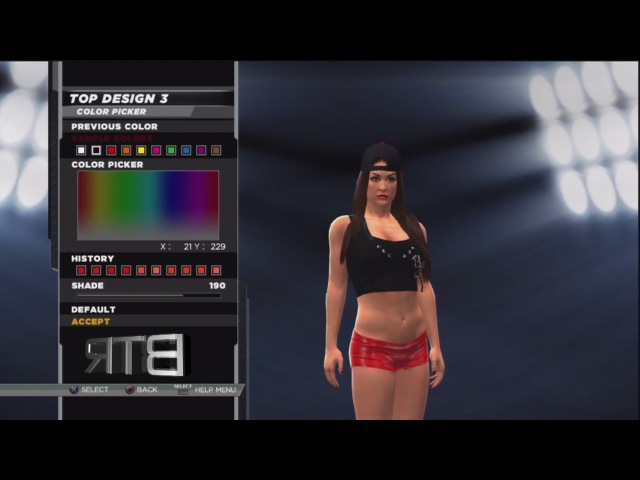 WWE 2K15 Superstar Threads Nikki Bella Survivor Series 2014 Attire