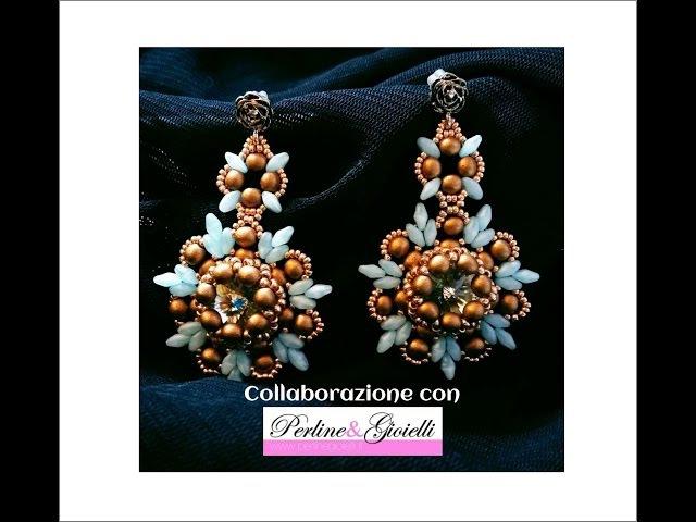 Orecchini Afrodite Collaborazione con Perline Gioielli (DIY - Afrodite Earrings)