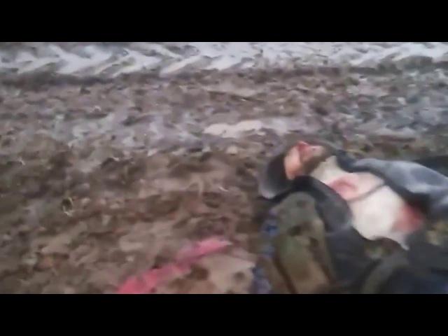 2016.Мертвые российские солдаты, гниют в поле. ДНР, ЛНР, Украина.