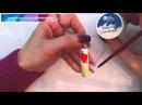 Дизайн на ногтях ко дню Святого Валентина. Автор: Liliya Engel