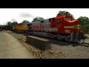 CSX Manifest Train w/ BNSF Leader on Railworks Train Simulator 2015